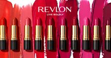 Revlon Super Lustrous Nude Rosa Rojo Marrón Violet lápiz labial en tonos más vendido
