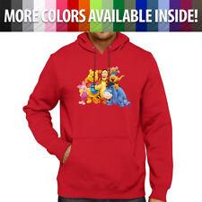 Disney Winnie Pooh Tigger Piglet Eeyore Pullover Hoodie Jacket Hooded Sweater