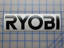 "Ryobi Decal Sticker 5.5"" 7.5"" 11"" Tools Drill Battery 18v Saw Impact Driver Kit"