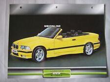 BMW M3 Cabrio Dream Cars Card