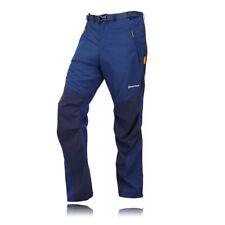 Montane Terra Short Leg Hombre Azul Aire Libre Pantalones De Senderismo Trekking