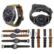 Genuine Leather Belt Wrist Strap Bracelet Watch Band for Samsung Galaxy Gear S3