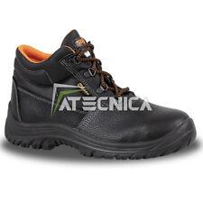 Scarpe antifortunistiche alte BETA 7243C S3P in pelle con puntale e lamina