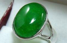 Jade-Ring, grün / rosa / hellgrün / lila Jade Ring