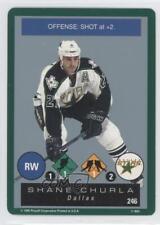 1995-96 Playoff One on Challenge #246 Shane Churla Dallas Stars Hockey Card