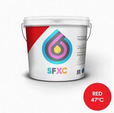 La tinta de impresión pantalla termocromica Rojo 47 ° C