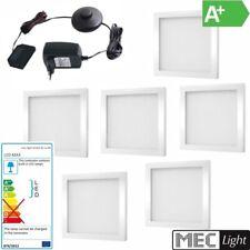 1-6x LED construcción de muebles -/unterbauleuchte foton en blanco 12v/3w