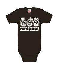 Panzerknacker (Walt Disney) Baby-Body schwarz von Logoshirt