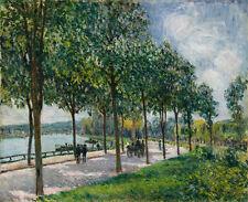 "Alfred Sisley : ""Allee of Chestnut Trees"" (1878) — Giclee Fine Art Print"