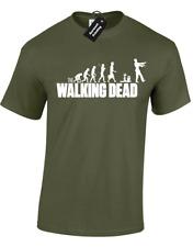 Walking Dead Para Hombre Camiseta Rick Grimes Daryl Dixon Michonne Zombies Negan Ventilador
