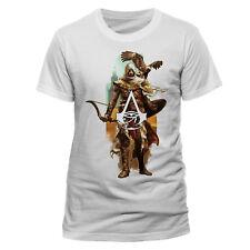 assassin's Creed Origins bayek y Águila Oficial UniSex Camiseta