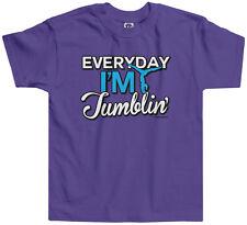 Threadrock Girls Everyday I'm Tumblin Toddler T-shirt Gymnast Gymnastics
