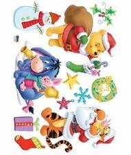 Wall Deco Sticker X-MAS POOH SANTA 106-DSC58391 - M
