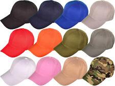 Baseball Cap - Six Panel - 100% Acrylic