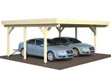 Doppelcarport Karl 20,6 m² Carport 6,00x5,12m optional: EPDM / Alublende / Bogen