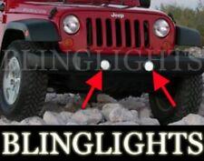 2007-2011 Jeep Wrangler Bumper Xenon Fog Lamps Lights