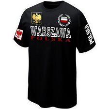 T-Shirt WARSZAWA POLSKA POLAND POLOGNE - Maillot ★★★★★★