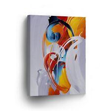 Modern Oil Painting on Canvas Print Wall Decor Art Framed %100 Handmade OPV14