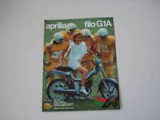 advertising Pubblicità 1983 APRILIA FILO G1A