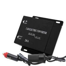 10A/15A Car Electric Convertor DC 24V to 12V Power Supply Inverter Transformer