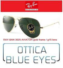 Ray Ban Sunglasses RB 3025 AVIATOR LARGE METAL RayBan Sonnenbrillen L0205 GAFAS