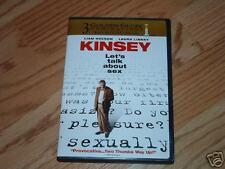 KINSEY (DVD) Liam Neeson LAURA LINNEY Romantic Drama 05