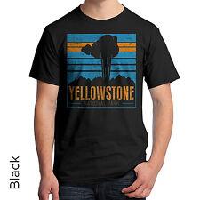 Yellowstone National Park T-Shirt Wyoming Montana Idaho Native American 999