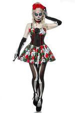 Costume donna halloween teschio vestito corto scheletro horror costume uy 80006