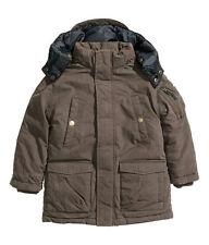 H&M Winterjacke / Wattierte Jacke Gr. 104, 110, 116 braun  *NEU!*
