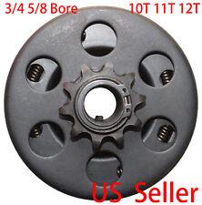 Centrifugal Go Kart Clutch Kit Minibike 3/4 5/8 Bore 10T 11T 12T Chain #35 40 41