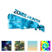 Zombie Hunter Shotgun - Vinyl Decal Sticker - Multiple Patterns & Sizes - ebn769