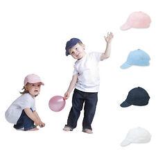 Baby Cap Toddler Cap Summer Sun Hat Baseball Cap Childrens Pink Blue White Navy