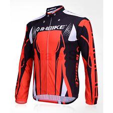 INBIKE Cycling Bike Windproof Fleeced Long Sleeves Jersey *Top Only* ,IA312 FLJ