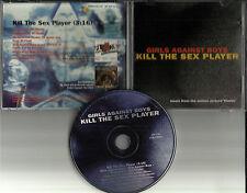 GIRLS AGAINST BOYS Kill the Sex player PROMO Radio DJ CD single 1995 USA CLERKS