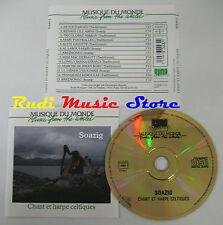 CD MUSIQUE DU MONDE CHANT HARPE CELTIQUES Soazig buda 82448-2(Xs7) NO lp mc  dvd