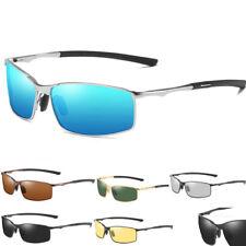Mens Aluminium HD Polarized Photochromic Sunglasses Driving Sports Sun Glasses