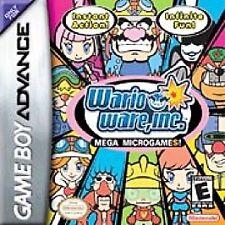 WarioWare, Inc.: Mega Microgame - Game Boy Advance GBA Game