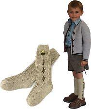 Kniestrumpf Landhausstil mir  Hirsch Strümpfe Kinder nicht nur zur Lederhosen