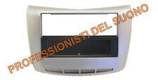 Mascherina adattatore radio Doppio Din - LANCIA Delta dal 2008 silver