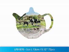 Macneil Studio Country Sheep Cow Melamine Tea Bag Tidy Farm Farmyard Countryside
