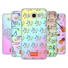 Officiel Emoji musique Patterns Coque Arrière Dur SAMSUNG pour téléphones portables 3