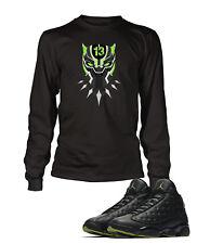 Graphic Panther T shirt To match Air Jordan 13 High Altitude Shoe Mens Tee Shirt