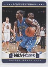 2012 NBA Hoops Taco Bell #27 Rodrigue Beaubois Dallas Mavericks Basketball Card