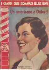 [KLO] I GRANDI CINEROMANZI ILLUSTRATI N°391 O'SULLIVAN UN AMERICANO A OXFORD