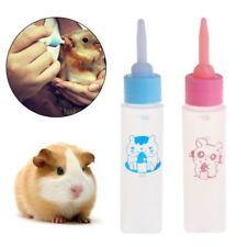 Pet Milk Bottle 30ml Silicone Nipple Small Animal Feeding Hamster Cat Dogs Puppy