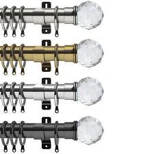 Swish Elements Capella - 35mm Metal Curtain Pole Sets