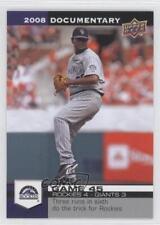 2008 Upper Deck Documentary #1295 Manny Corpas Colorado Rockies Baseball Card