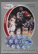 1998-99 SAGE Authentic Autograph Silver #A33 Cuttino Mobley Houston Rockets Auto