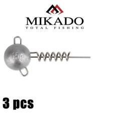 Mikado Jaws Corkscrew ,Heads screw in jig heads.predator,tackle,lure,rage, jig