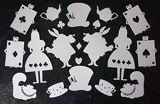 Alice - Tea Cup & Saucer - Tea Pot - Cheshire Cat - Card Making - Scan N Cut
